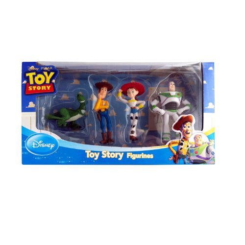 Collectible Teddy Bear Figurine - Beverly Hills Teddy Bear Disney Toy Story Figure Playset (4 Piece)