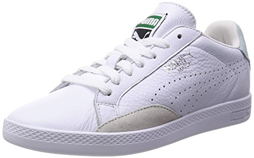 Puma Match Lo Basic Sports Wns, Sneakers basses femme Blanc (white/fair Aqua)