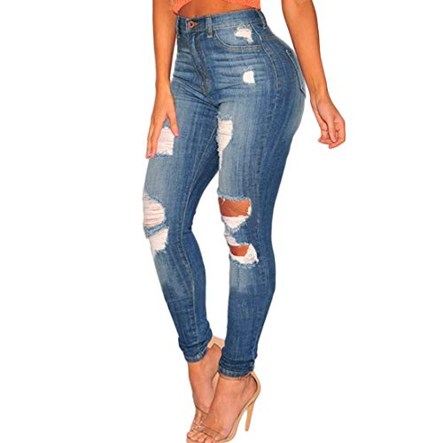Strappati Pantaloni Skinny Kervinfendriyun Style Jeans Yy3 Lunghi 3 Aderenti WYqwOHA5nw