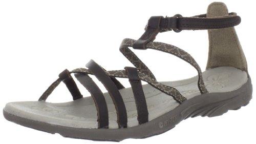 Hi-Tec Women's Sienna Strap Sandal,Choc/Light Taupe/Stone,11 M US Womens Sienna Strap Sandal