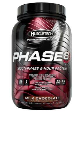 Phase8, Chocolat au lait, £ 2,0, protéines à libération prolongée