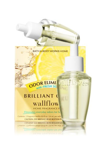 Bath and Body Works New Look! Brilliant Citrus Wallflowers 2-Pack Refills (Odor ()