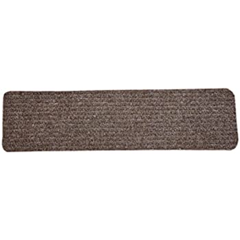 Dean Carpet Stair Treads/Runners/Mats/Step Covers   Brown Ribbed Indoor/