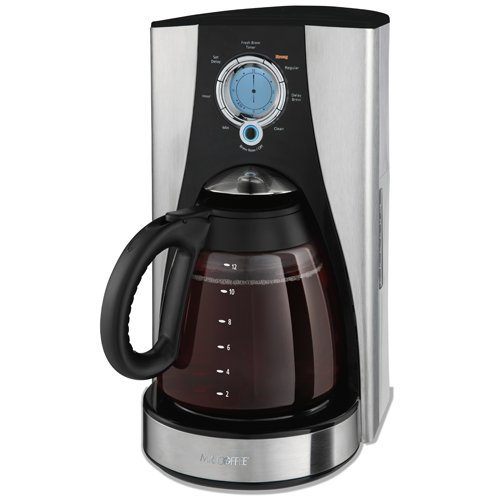 Find a Mr. Coffee LMX43GTF 12-Cup Programmable Coffeemaker, Stainless Steel