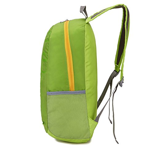 Mountaineering Bag Outdoor Männer und Frauen Schulter Rucksack nylon Wanderpackage wasserdichte Bergsteigen Taschen , orange