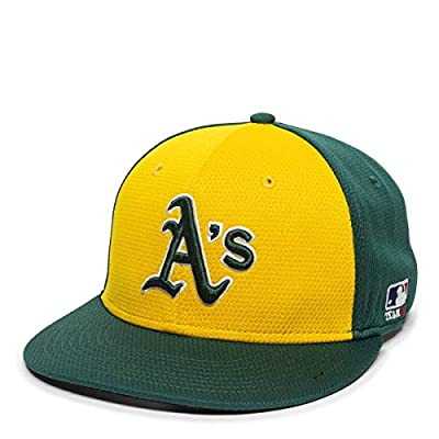 Oakland A's Alternate 2-Tone MLB Mesh Replica Adjustable Baseball Cap Hat (Youth 6 3/8 to 7 Ages 6 to 12 Years)