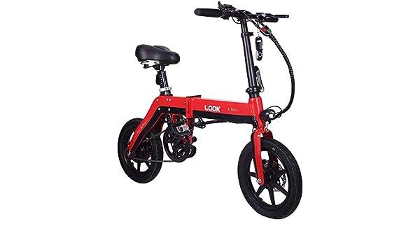 TTMM Bicicleta eléctrica, Hace Que la Bicicleta eléctrica de la batería de Litio produzca una pequeña generación de Electricidad y Que se Pliegue en el Coche de la Mujer de la Moto.: