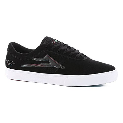 Lakai la Flare Sheffield–Skateboard de ante negro
