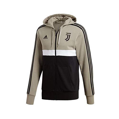 adidas 2018-2019 Juventus 3S Full Zip Hoody (Sesame)