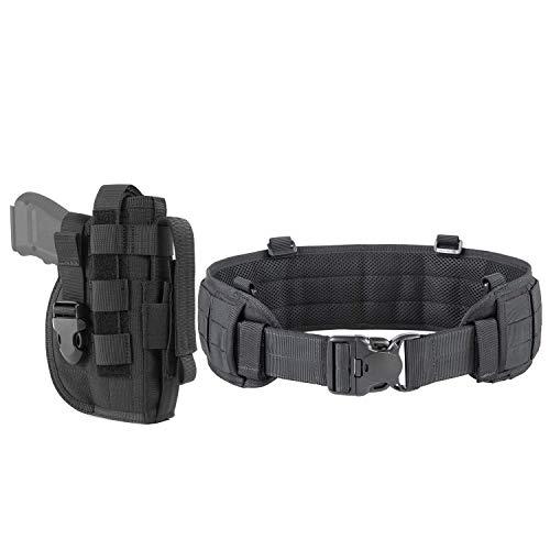 OneTigris Black Gun Holster & Tactical Belt