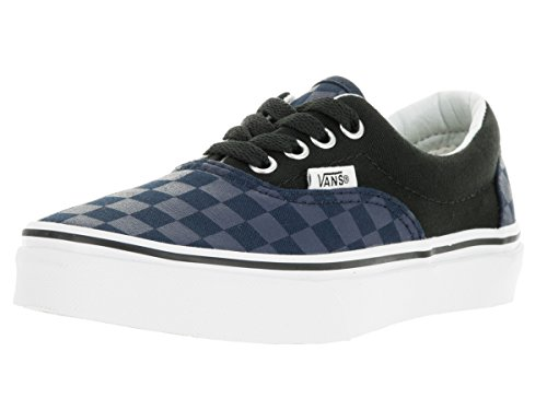 Vans Unisex Era (Checker Board) DRS BLS/Blk Skate Shoe 11 Kids (Era Checkerboard)