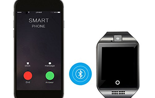 Amazon.com: Bond Q18S Bluetooth Smart Watch with Camera ...