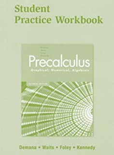 Student solutions manual for precalculus graphical numerical precalculus graphical numerical algebraic 7e student practice workbook fandeluxe Image collections