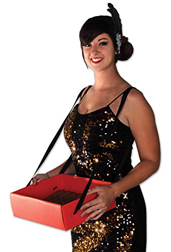 Stadium Tray - Beistle 59891 Cigarette Girl Party Tray, 4