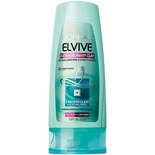 L'Oréal Paris Elvive Extraordinary Clay Rebalancing Conditioner, 12.6 fl. oz. (Packaging May Vary)