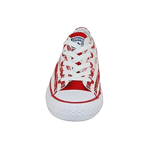 Converse Basket Mixte Rouge Blanc [5FgFH0105016] €36.46