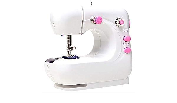 Yuaer Pequeña máquina de coser, máquina de coser overlock ...