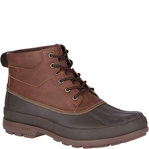 Shell Mens Chukka Boot - SPERRY Men's Cold Bay Chukka Snow Boot, Brown/Coffee, 10.5 M US