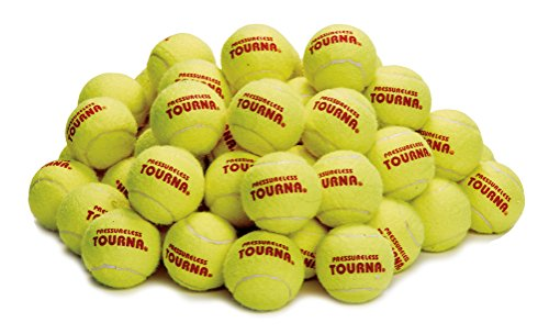 Tourna Pressureless Tennis Ball (Pack of 60) ()