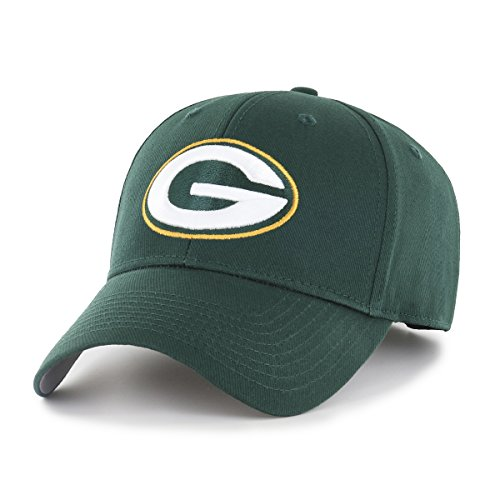 (NFL Green Bay Packers OTS All-Star MVP Adjustable Hat, Dark Green, One Size)
