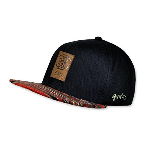 DJINNS DJINNS Aztec black Cap Aztec Snapback v66pFWqZP