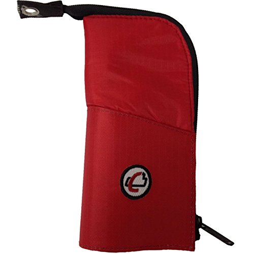 Red Grommets (Case-it The Cup Zippered Pencil Case with Grommet, Red, PLP-01-RED)