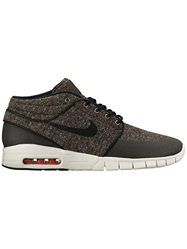 Nike Stefan Janoski MAX MID Mens Skateboarding-Shoes 807507 (7.5 D(M) US, Baroque Brown/Laser Crimson/sail/Black)