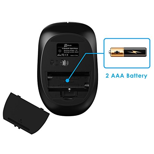 Kitchen Design Software Mac Os X: JETech M2260 Bluetooth Wireless Mouse For PC, Mac, And