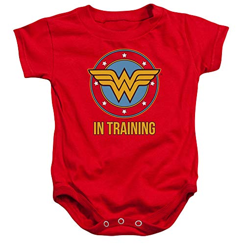 Wonder Woman Onsie (Wonder Woman WW in Training Baby Onesie Bodysuit, 6)