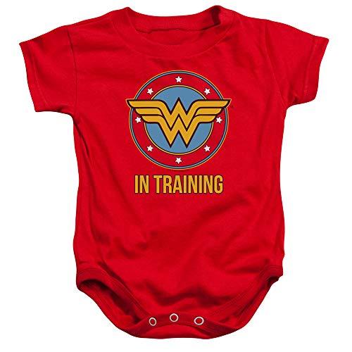 Wonder Woman WW in Training Baby Onesie Bodysuit, 6 Months
