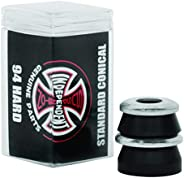 Independent Standard Conical Cushions Black Skateboard Bushings - 2 Pair with Washers - 94a