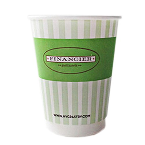 12 oz Anti-scald Paper Cup Disposable Paper Cup For Coffee 50 Count, No.1