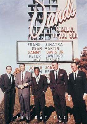 Sands Casino Las Vegas ((24 x 34) Frank Sinatra & the Rat Pack Sands Casino Las Vegas Poster)