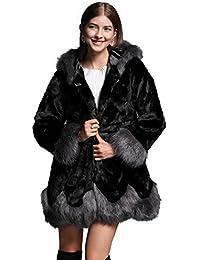 Amazon.com: Blacks - Fur & Faux Fur / Coats, Jackets & Vests ...
