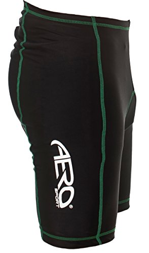 Alta Negro hombre Sport Peque para visibilidad o Coolmax Aero Shorts Amarillo xwXqY451A