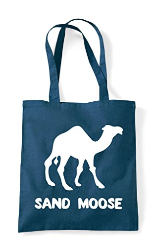 Alternative Bag Sand Animal Names Moose Camel Shopper Tote Petrol rCxr1wqY