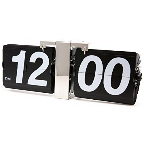 Karlsson Flip Clock (JCC Retro Series Classic Jumbo Large Size Flip Page Down Wall Hanging Clock Quartz Desk)