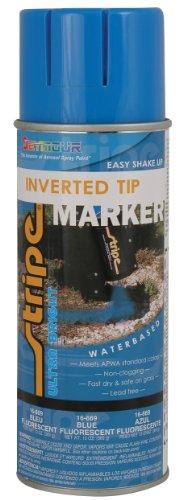 Seymour 16-669 Stripe Water Base Inverted Tip Marker, Blue Fluorescent