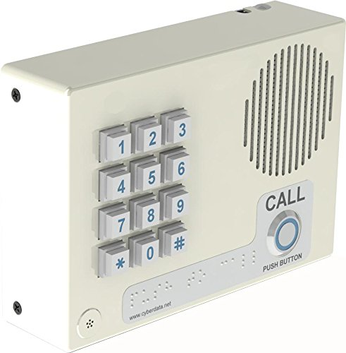 CyberData CD-011113 VoIP Intercom w/Keypad - Wall Mount - - Voip Door Intercom