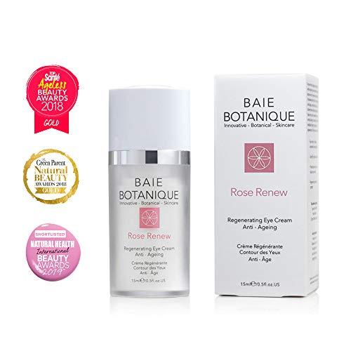 Anti-Aging Eye Cream 15ml, Edelweiss Stem Cells, Low Molecular Hyaluronic Acid. Multi Award Winning – 100 Natural, 70 Organic