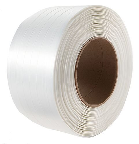 TSS Packaging TSS.CW34.2425 3/4'' Heavy Duty Woven Poly Cord Strapping 1640', 6'' x 3'' Core by IDL Packaging