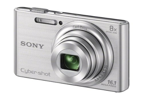 Buy Sony Cyber Shot DSC W730 SC E32 161MP Point And Shoot Digital Camera Silver With Case Online At Low Price In India