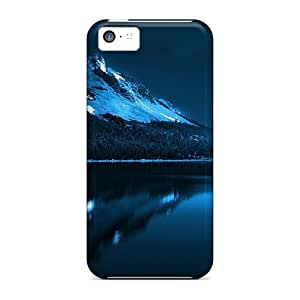 Iphone 5c Case Cover Skin : Premium High Quality The Moon At Night Case
