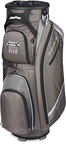 Bag Boy Revolver FX Cart Bag, Charcoal/Silver/Black