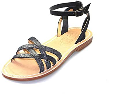 La Botte Gardiane Black Comfort Sandals Sandal For Women