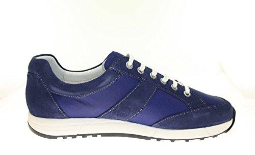 More Styling , Baskets pour homme Bleu Azul 42