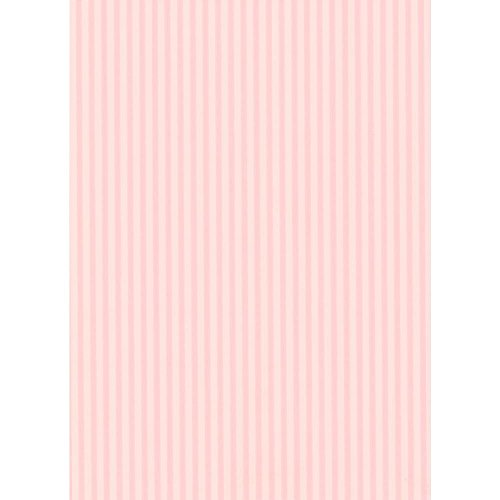 Awning Stripe Wallpaper - York Wallcoverings RU8339SMP Pink and Purple Book Awning Stripe Wallpaper Memo Sample, 8-Inch x 10-Inch, Pink