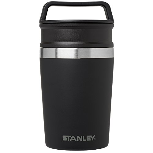 Stanley Adventure Vacuum Mug, Matte Black, 8 oz