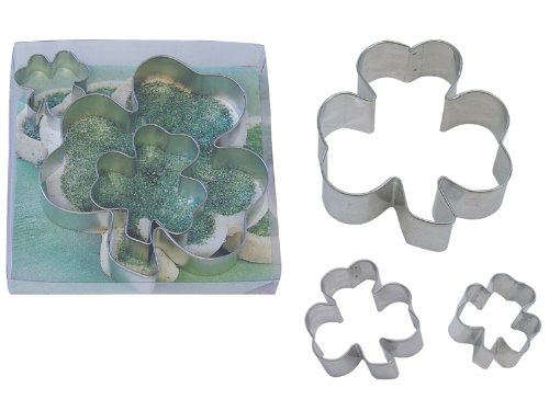 R & M Shamrock Cookie Cutter Set