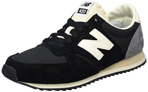 New Balance Unisex-Erwachsene 420 70s Running Sneakers Schwarz (Black)
